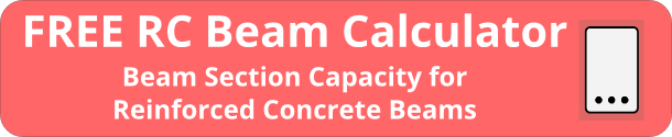 RC Beam Calculator